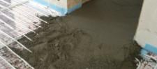 пескобетон в квартире