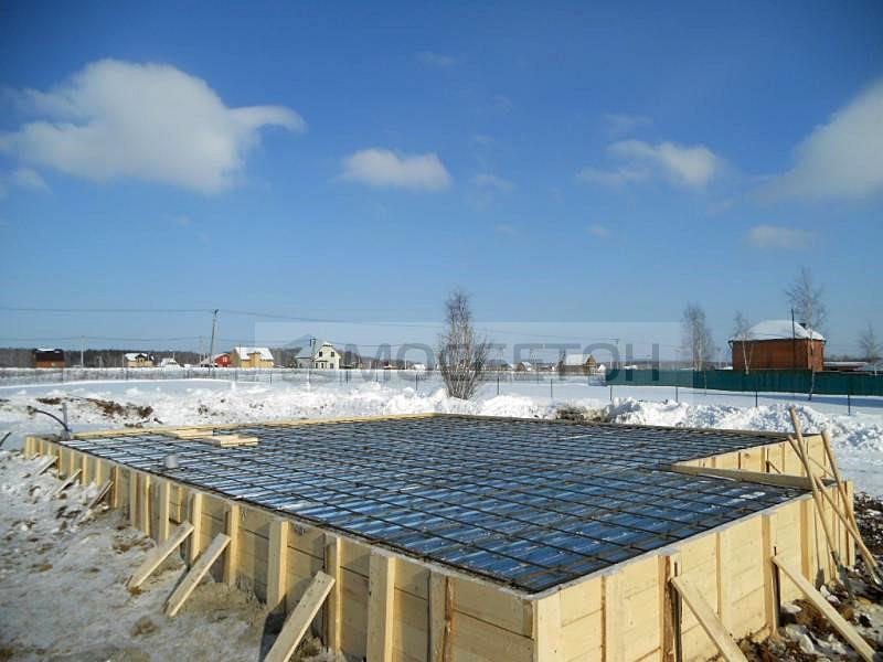 бетон зимний