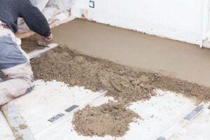 Песчанный бетон виброуплотнитель бетона