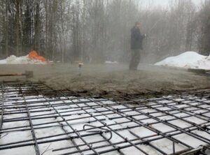 Зимний бетон расчет объемов бетона