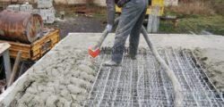 Заливка перекрытий бетоном