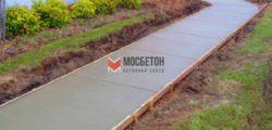 Марка бетона для тротуара