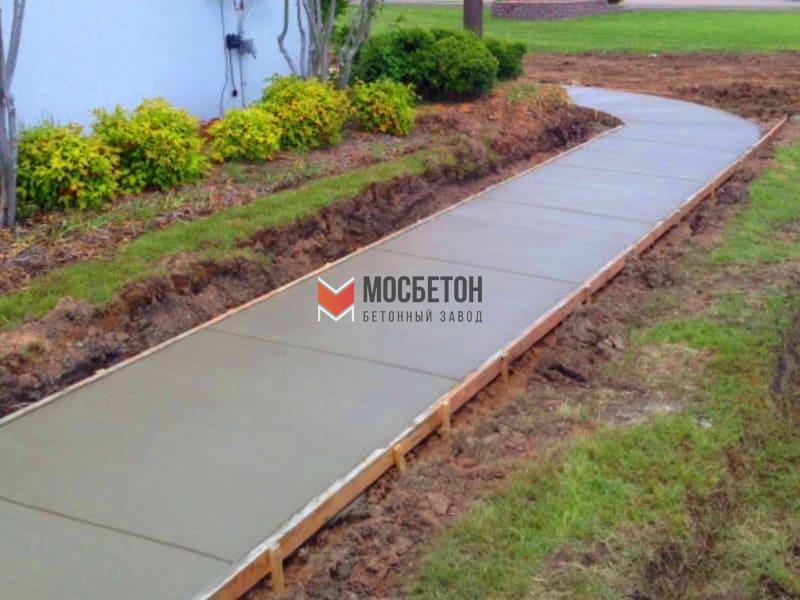 Тротуар бетон виды лестниц из бетона в дом