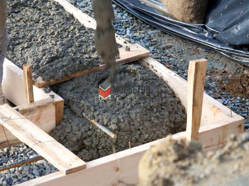 Бетон под баню цемент купить цена в москве