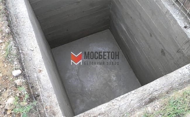 бетон для подвала купить