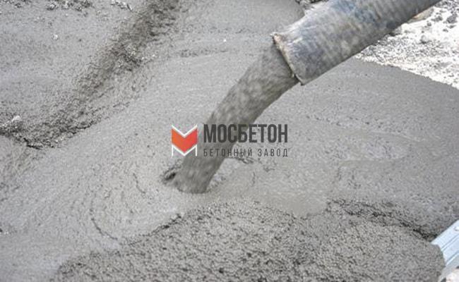 Купить жидкий бетон для фундамента с доставкой цена штукатурный раствор цементный