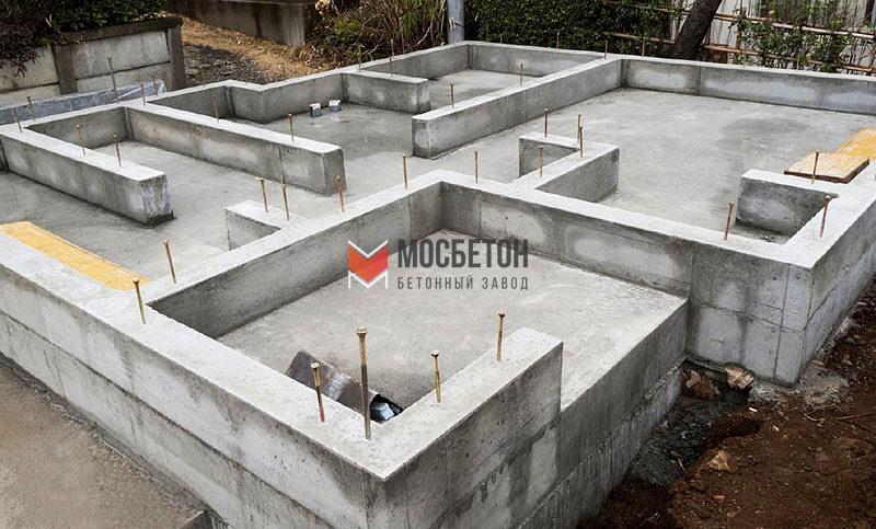 купить бетона на фундамент