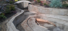 строительство чаши бассейна