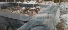 укрытие бетона зимой