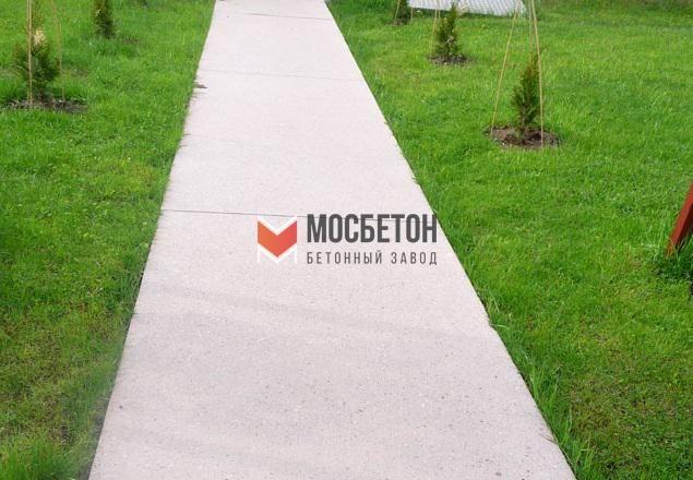 Тротуар своими руками из бетона